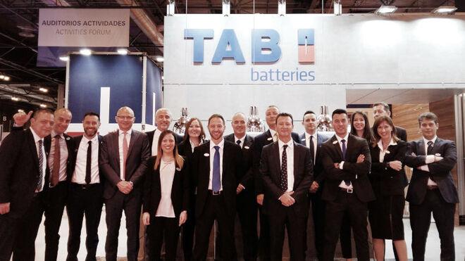 TAB Spain exhibirá sus nuevas baterías en Motortec