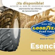 Los neumáticos agrícolas de Goodyear vuelven al mercado ibérico