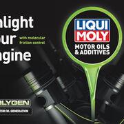 Liqui Moly presentará la gama Molygen en Motortec