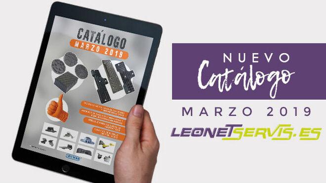 Leonet Servis lanza nuevo catálogo para Motortec 2019