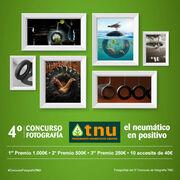 """TNU convoca su cuarto concurso fotográfico """"El neumático en positivo"""""""