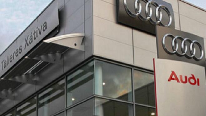 Audi ofrece experiencias de realidad virtual en Talleres Xàtiva