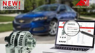 Nuevo alternador de AS-PL para Chevrolet y Suzuki