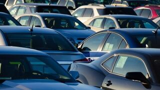 Las matriculaciones de vehículos descienden el 5,9% hasta noviembre
