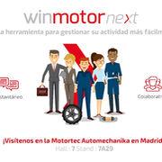 Solware Auto presentará en Motortec su innovador sistema de gestión Winmotor Next
