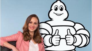 Eva González explica las ventajas de la gama de neumáticos Michelin Crossclimate