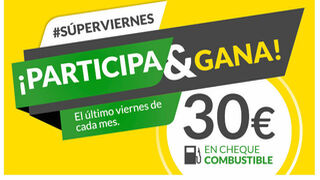 Feu Vert regala 30 euros en combustible los Superviernes