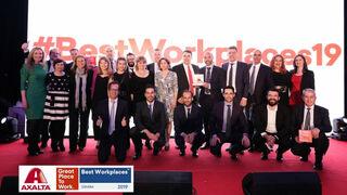 Axalta, elegida entre los 30 Mejores Lugares para Trabajar en España por Great Place To Work