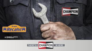 Recalvi distribuirá todos los productos Champion