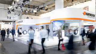 Hankook Tire presentará sus Smart Work y Smart City AU04+ en 15 ferias de vehículo industrial