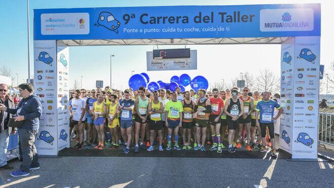 Más de 2.500 corredores en la IX Carrera del Taller