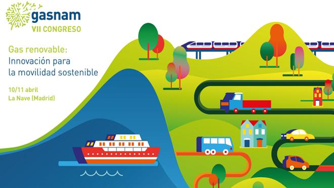 Gas renovable, una opción para la movilidad sostenible