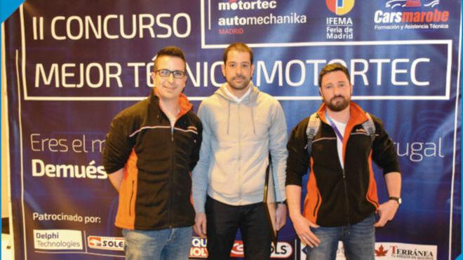 Pablo Casas es el Mejor Técnico Motortec 2019