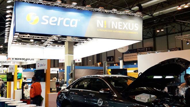 Los servicios para talleres de Serca, en Motortec