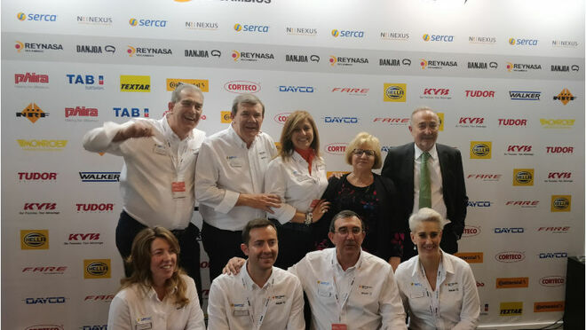 Reynasa-Danjoa homenajeó a Joaquín Roncero Iranzo en el marco de Motortec