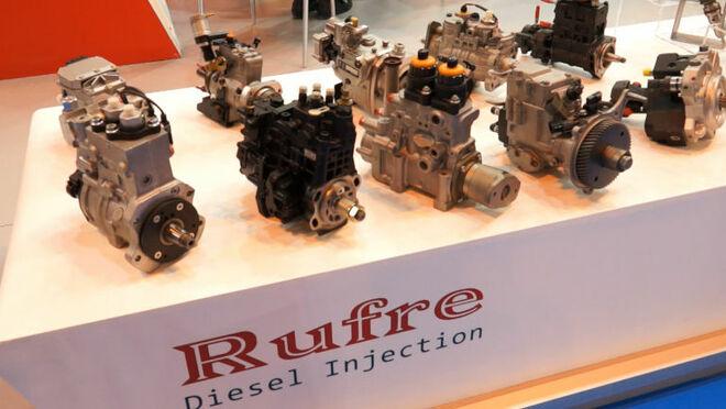 Rufre dio a conocer en Motortec sus gamas de producto nuevo y reconstruido