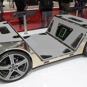 Hankook Tire equipa el futurista microvehículo de Rinspeed