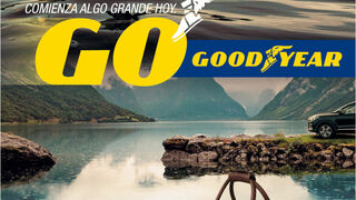 Una bolsa de viaje vintage para aquellos que compren neumáticos Goodyear en primavera