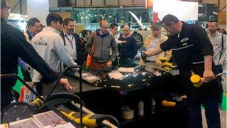 El Proceso de Preparación para daños leves de Mirka, en Motortec
