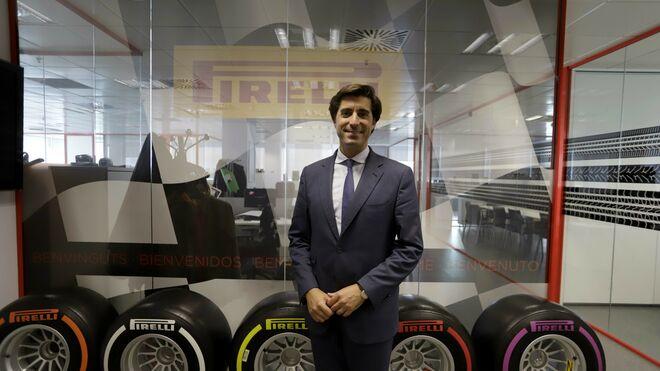David Pallarès, al frente del Marketing de Pirelli en España y Portugal