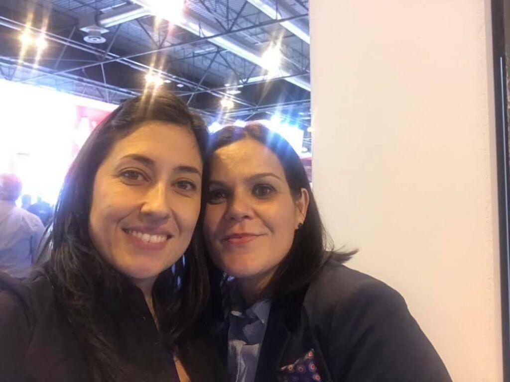 Mar Calderón, con Tamara Lázaro (Andel)