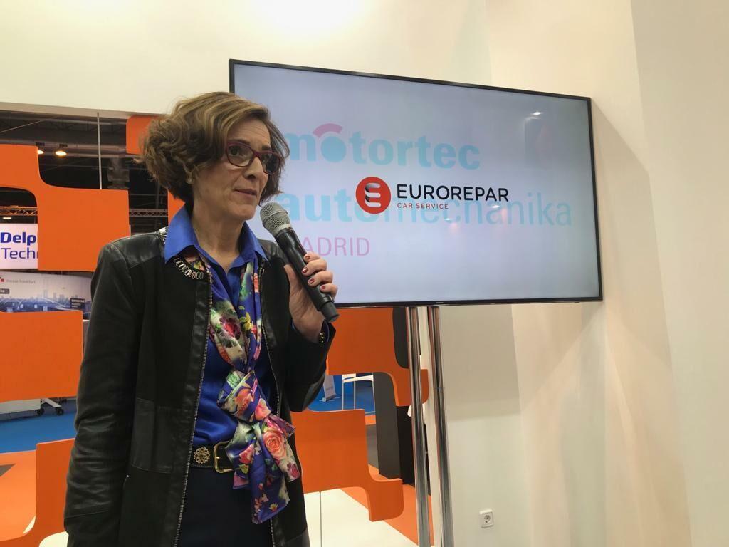 Alicia Encinas, directora de la red Euro Repar Car Service