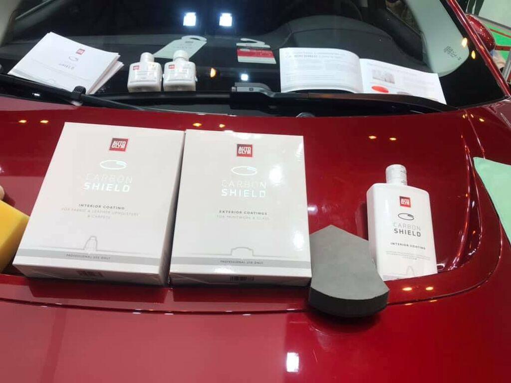 Carbon Shield, lo último de AutoGlym para la limpieza y mantenimiento de exterior, interior y lunas del vehículo