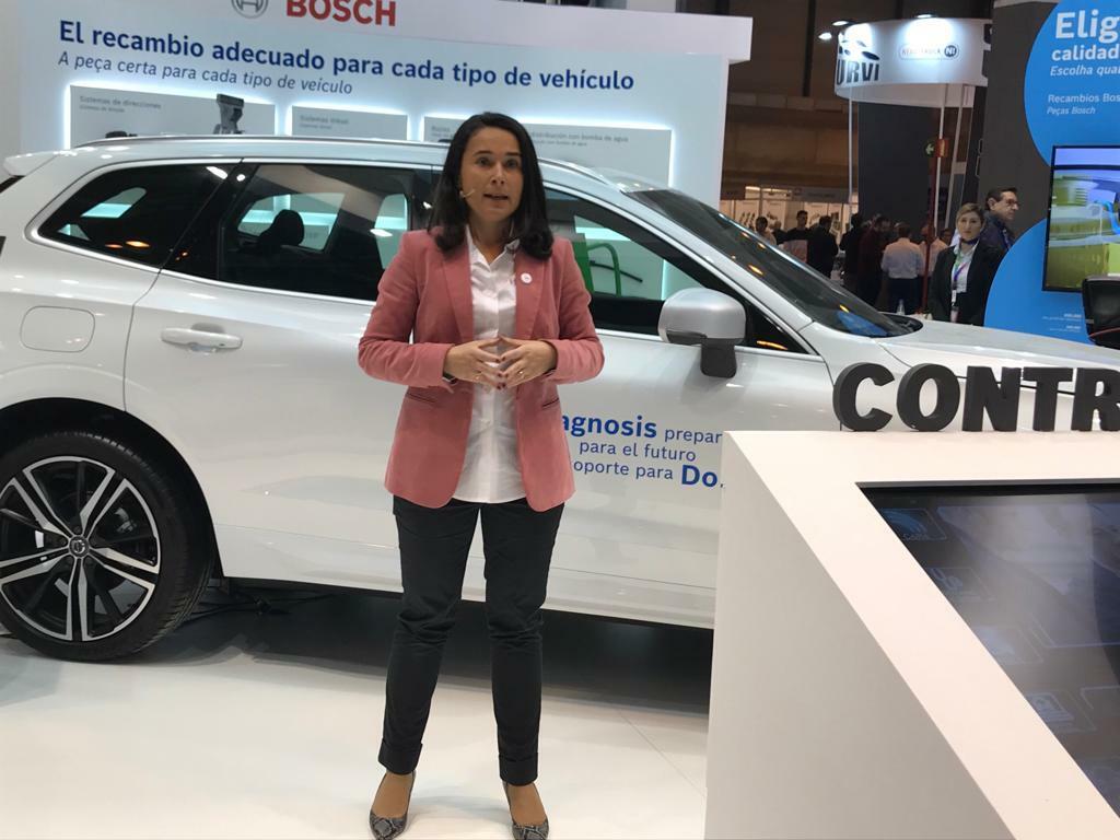 Marian Luño, directora de Automotive Aftermarket de Bosch para España y Portugal