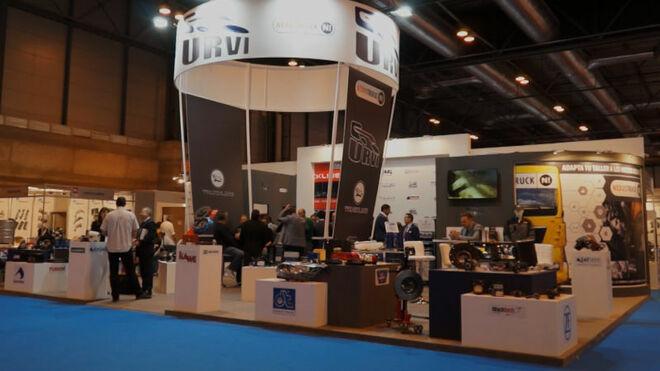 Urvi presentó al sector su marca propia Truckline y su evento Urvi 360 en Motortec