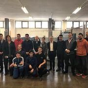 La UEAC dona un elevador y dos vehículos a la Escuela Municipal del Trabajo de Granollers