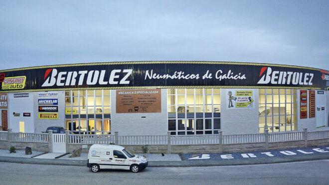 Los centros Bertolez Neumáticos cumplen 5 años
