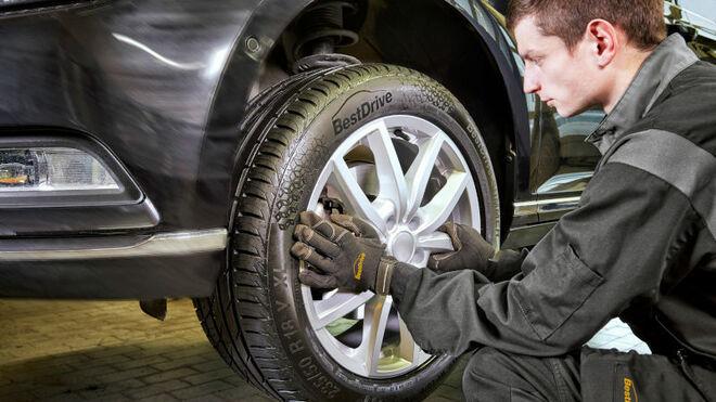 BestDrive lanza el primer neumático con su marca