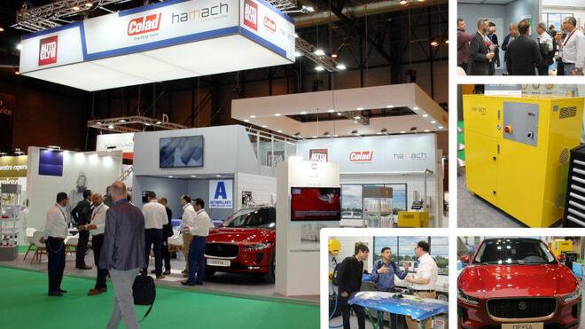 Autobrillante centró su presencia en Motortec en la idea del taller como negocio