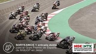 NGK-NTK sortea entradas para el Gran Premio Red Bull de España de Moto GP
