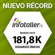 Infotaller celebra sus primeros 10 años con récord histórico