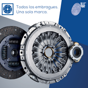 Embragues de coche europeo en Blue Print