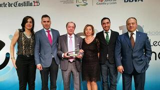 Eustaquio Andrés, galardonado con el Premio a Toda una Vida por su trayectoria al frente de Grupo Andrés