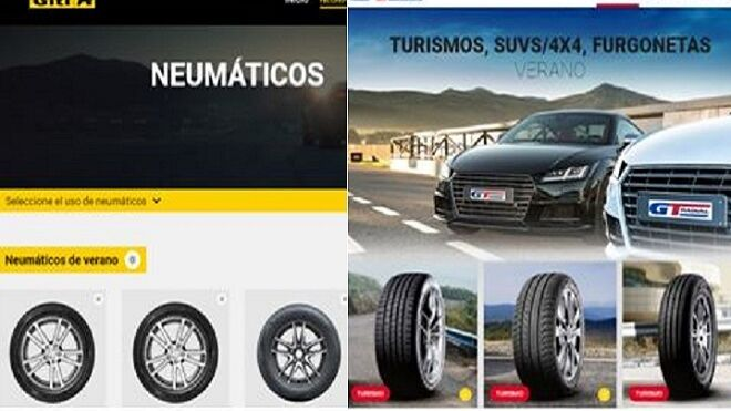 Giti Tire estrena webs para sus marcas Giti y GT Radial