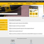 Mirka enriquece su página web