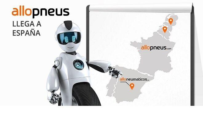 Allopneus llega a España con los clientes de Popgom