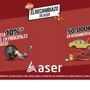 El Grupo Aser entrega los 'premios gordos' de El Recambiazo