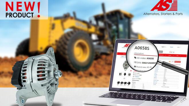Nuevo alternador de AS-PL para maquinaria agrícola