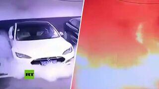 ¿Qué ha provocado la explosión de un vehículo Tesla en China?