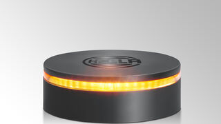 Hella presenta un rotativo LED con diseño compacto para V.I.