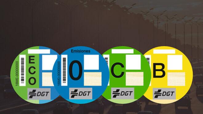 Ganvam refuerza el envío de distintivos medioambientales de la DGT