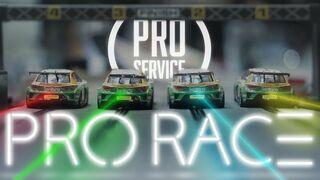 Trepidante final del campeonato de Scalextric PRO Service
