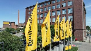 Continental registra una cifra de negocio de 11.046 M€ en el primer trimestre del año