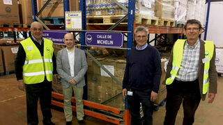 Vialider dona 2.155 kilos de alimentos al Banco de Alimentos de Madrid