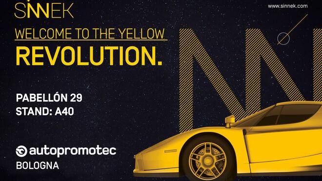 Sinnek participará por primera vez en Autopromotec Bologna