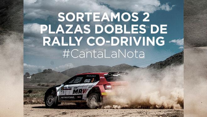 Pirelli te convierte en copiloto del Campeonato de España de Rallyes de Tierra